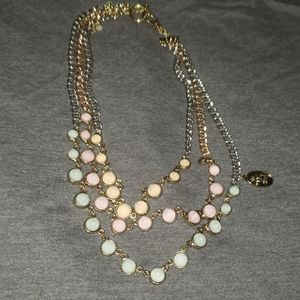 Multi colored Juicy Couture necklace